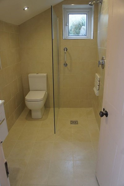 Wetroom room design and build in Pembroke