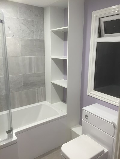 Bathroom design and installation in Pembroke