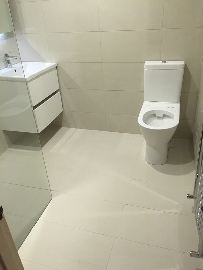 Wetroom design and installation in Port Lion