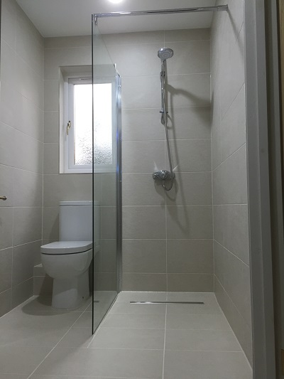Ensuite Wet Room Installation In Pembroke